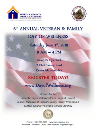 6th Annual Veteran & Family Day of Wellness @ Camp PaQuaTuck | Center Moriches | New York | United States